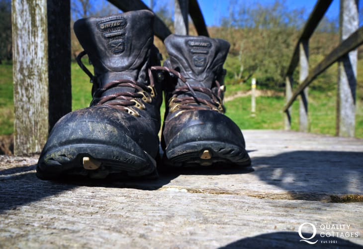 Walk Offa's Dyke path- choose a section for a day's hike, or set yourself a challenge and take 2 weeks or more walking the entire 177 mile National Trail!