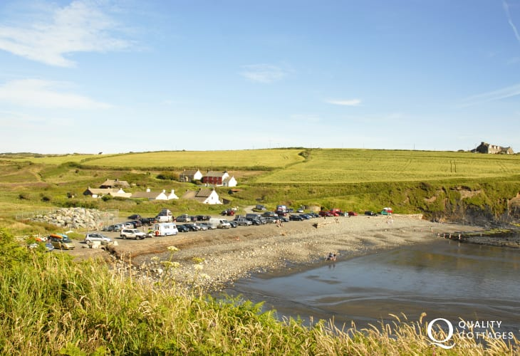 Abereiddi and The Blue Lagoon - popular with families with plenty of fossils to be found at low tide!