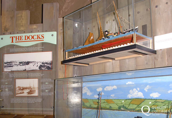 Milford Haven Museum in The Old Customs House on Milford Marina brings to life the town's colourful seafaring past - well worth a visit