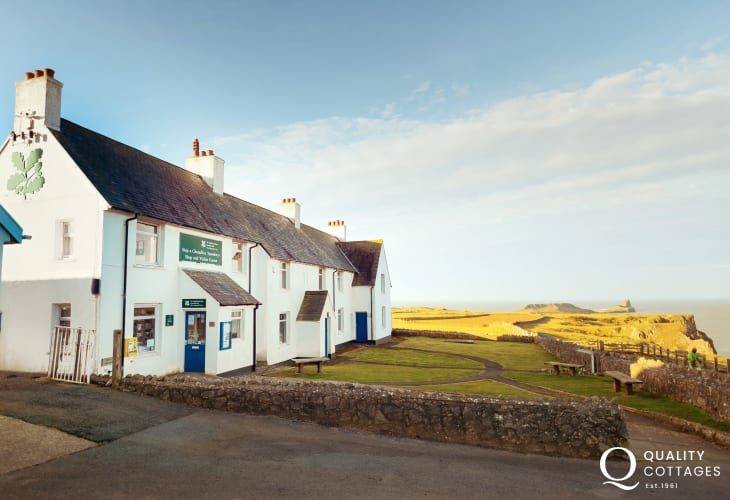 Rhossili National Trust Shop and Visitor Centre sells maps, guides and holiday souvenirs