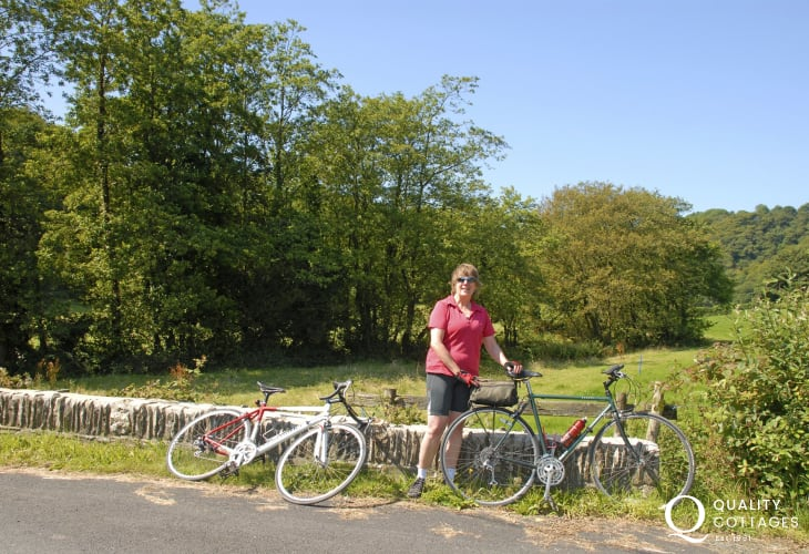 Cycle The Celtic Trail through the Gwaun Valley - Pembrokeshire Bikes in Fishguard have bike hire to suit all ages