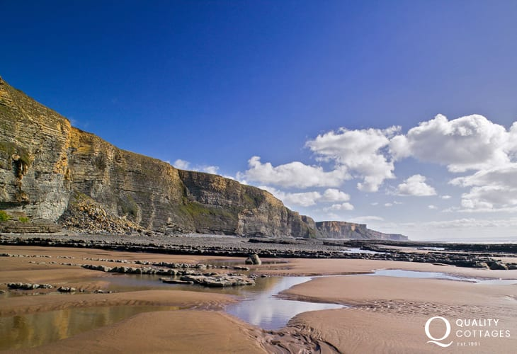 The stunning coastline of the Glamorgan Heritage Coast - breathtaking!
