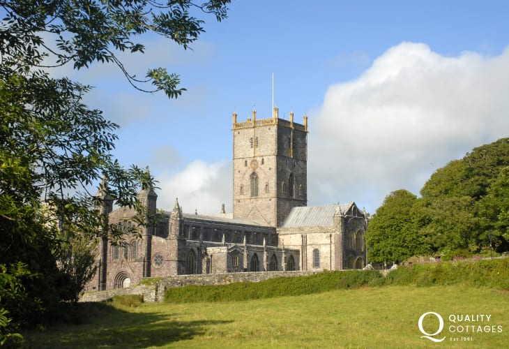 St Davids Cathedral - cultural centre of the village city of St Davids. Frequent musical events are organised within the Cathedral