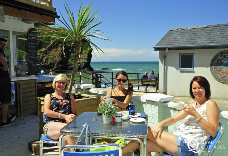 Llangrannog - an old smugglers cove popular with families, surfers or just for relaxing and watching the world go by