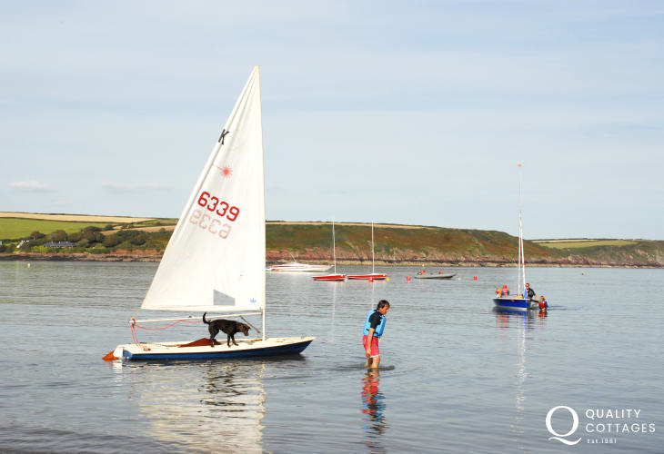 West Wales Wind, Surf and Sailing in Dale offer tuition for all sorts of water sport activities