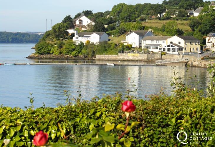 The Ferry Inn at hazel beach - for good food and drink overlooking the river