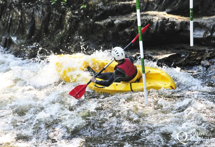 Paddlers Outdoor Activity Centre in nearby Llandysul has a wide range of activities on offer