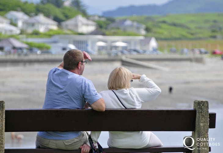 Criccieth, an all year round favourite destination for walkers and families