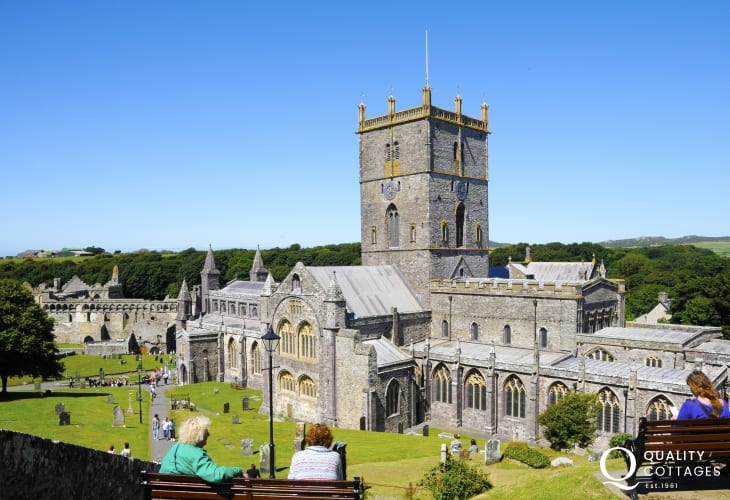 St Davids Cathedral has been a focus of pilgrimage and worship for hundreds of years