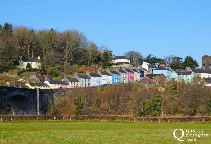 Llandeilo has is a wide variety of places to eat and drink