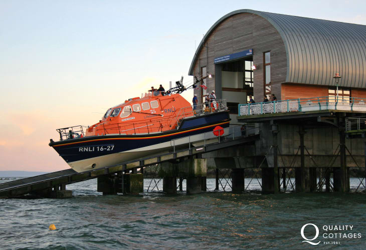 Explore the brand new Mumbles Lifeboat Station on Mumbles Pier