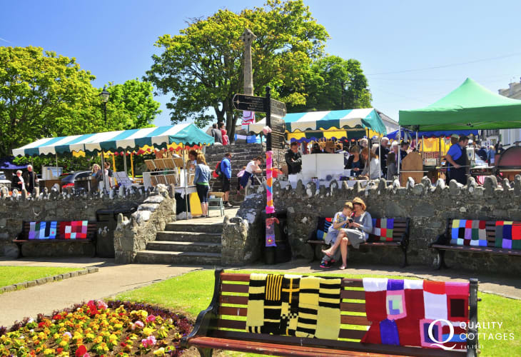 St Davids Farmers Market is held weekly in Cross Square - all sorts of local produce and handmade crafts on offer