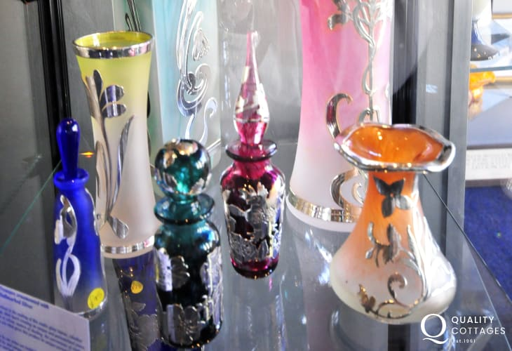 Laugharne Glass Studios - watch glass-blowers using traditional methods to create some exquisite unique pieces straight from the furnace