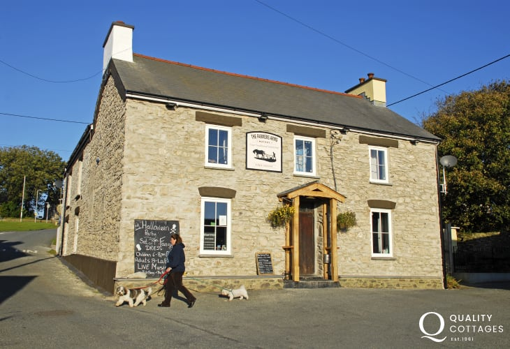 Farmers Arms, Mathry - a traditional dog friendly village pub