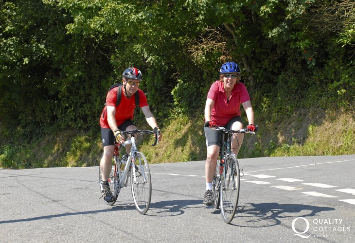 TYF in St Davids provide a full range of bikes for hire to explore Pembrokeshire's quiet country lanes and cycle trails