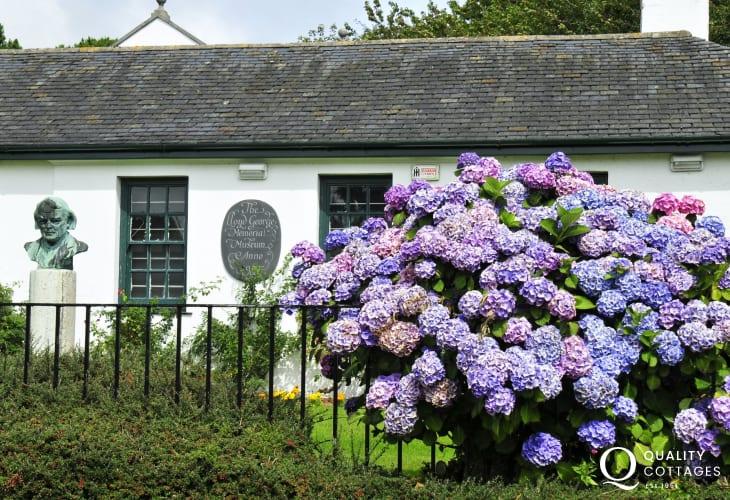 Lloyd George museum is an interesting place to spend a few hours near Llanystumdwy Criccieth