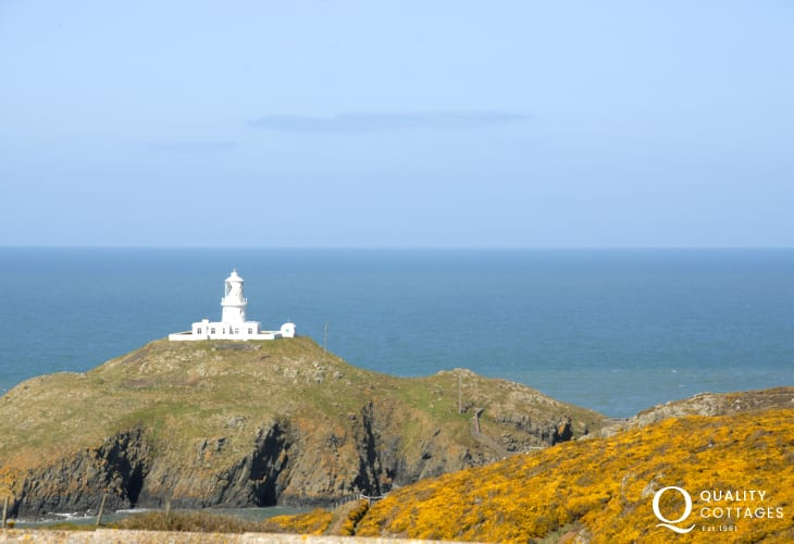 View of Strumble Head Lighthouse