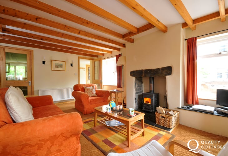 Snowdonia cottage sleeps 4 - lounge