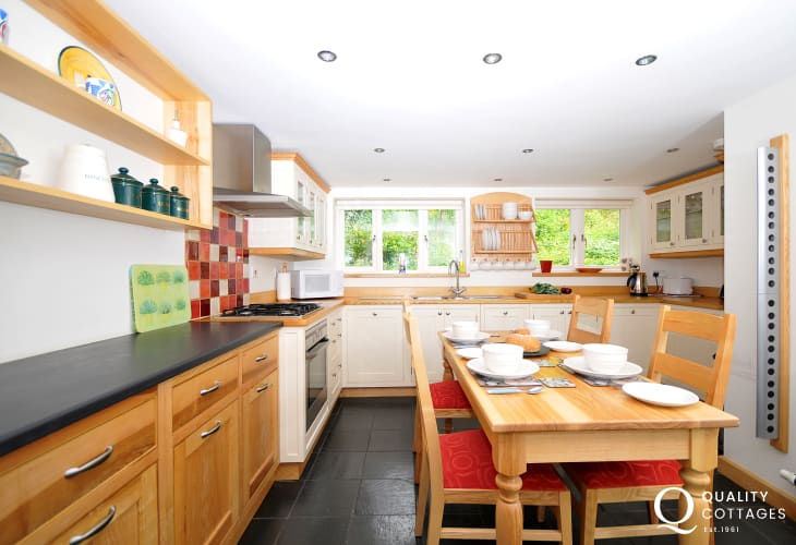 Self catering Betws y Coed-kitchen