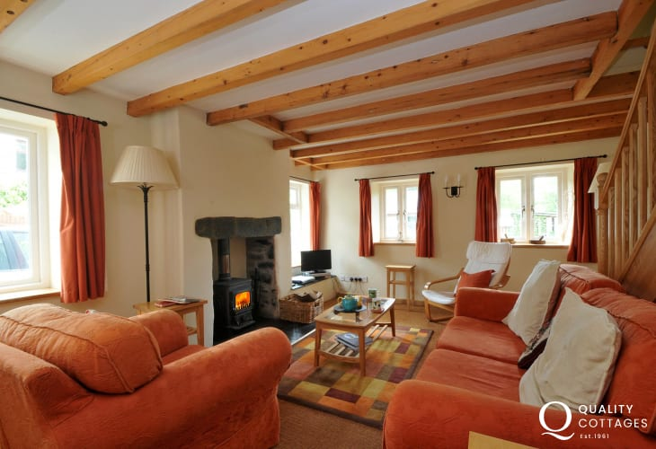 Holiday cottage Snowdonia sleeps 4 - lounge