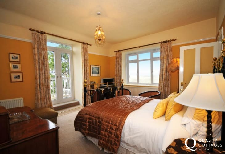 One of double balcony Bedrooms