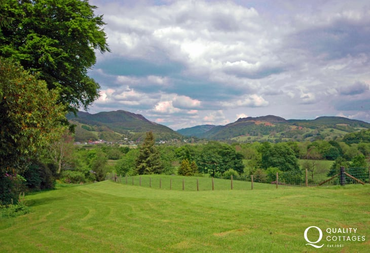 Views from Cader Iris holiday cottage