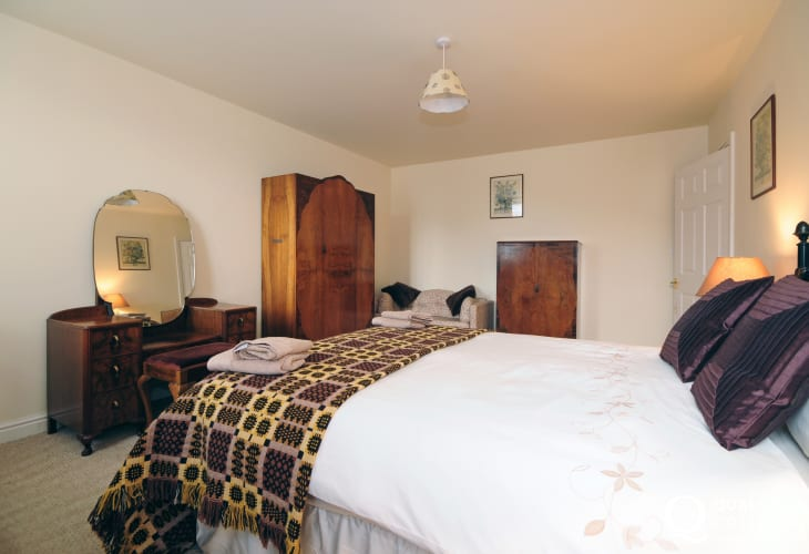 Bedroom at holiday home sleeps 6