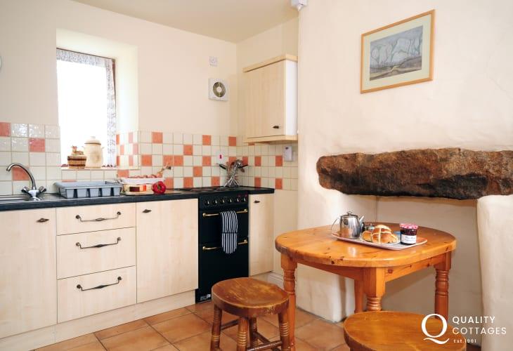 Cader Iris holiday cottage - kitchen