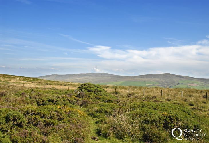 'The Golden Road' is one walking trail running across the wild Preseli Hills