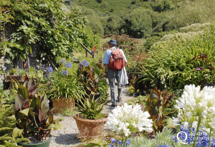 Dyffryn Fernant Gardens - a tranquil setting in 6 acres of grounds