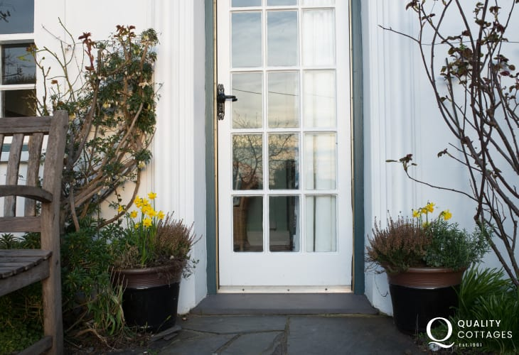 Holiday cottage 3 bedrooms Morfa Nefyn - door