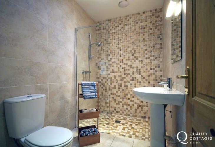 Luxury Lleyn Peninsula holiday house - bathroom