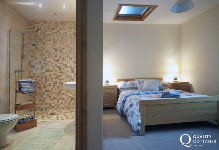 Luxury holiday house Lleyn Peninsula - bedroom