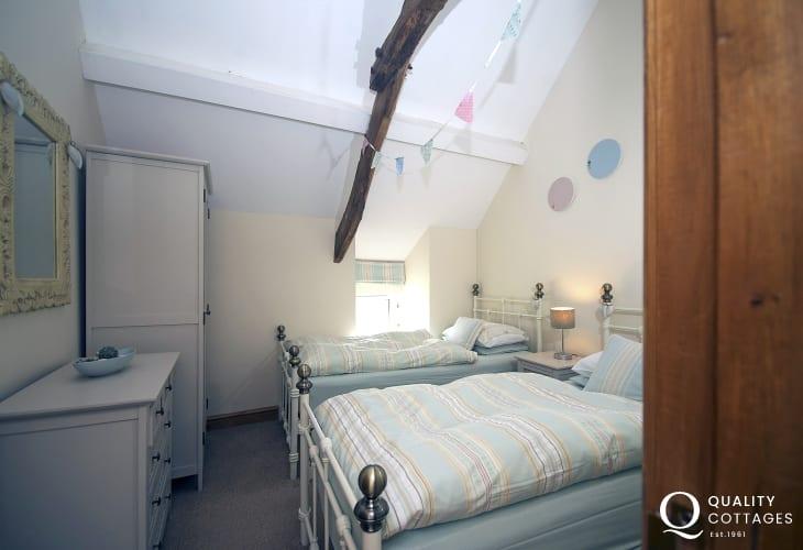 Luxury holiday house Lleyn Peninsula- bedroom