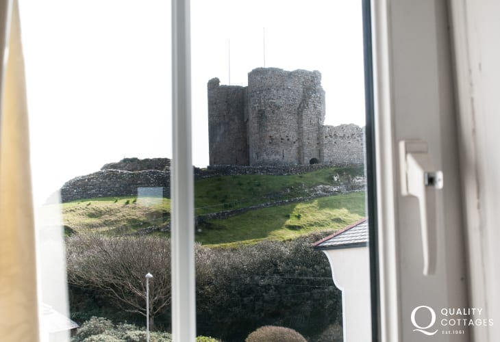 Criccieth holiday house - view