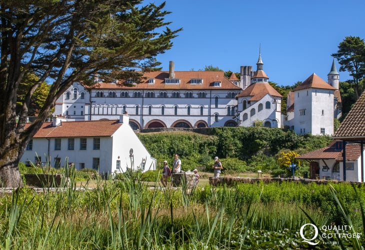 Caldey with its Cistercian Monastery