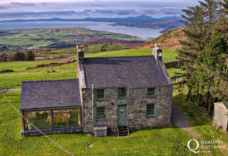 Holiday cottage North Wales sleep 7
