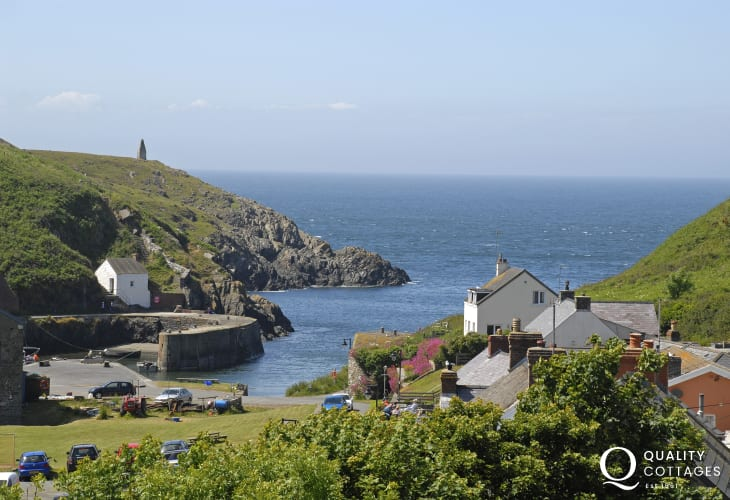 Porthgain is a picturesque fishing harbour village with a pub, bistro restaurant and two galleries