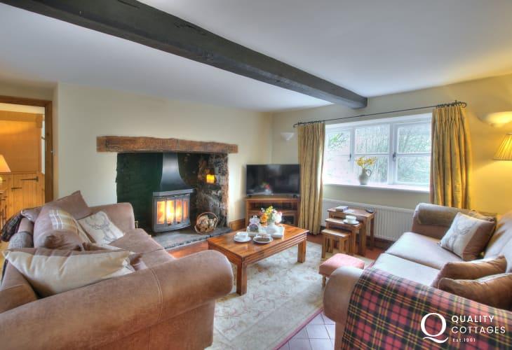 Rural Retreat Brecon - lounge