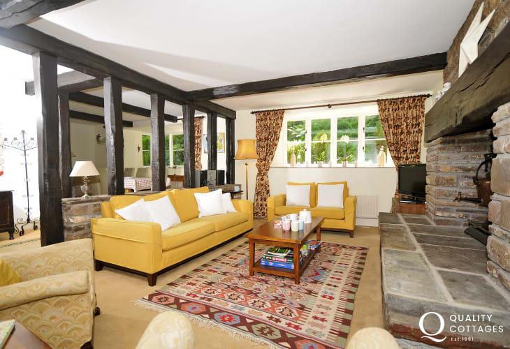 Rural retreat Brecon Beacons - lounge