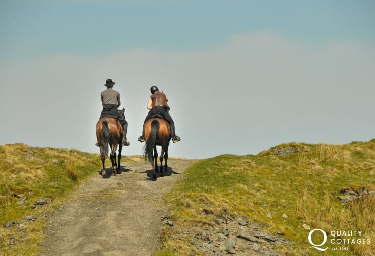 Riding in the Brecon Beacons