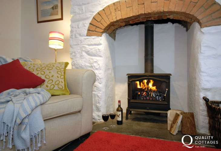 North Pembrokeshire holiday home - relax and chill out by the fire