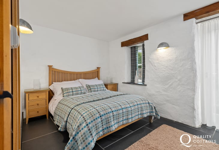 Melin Tregwynt double bedroom barn conversion