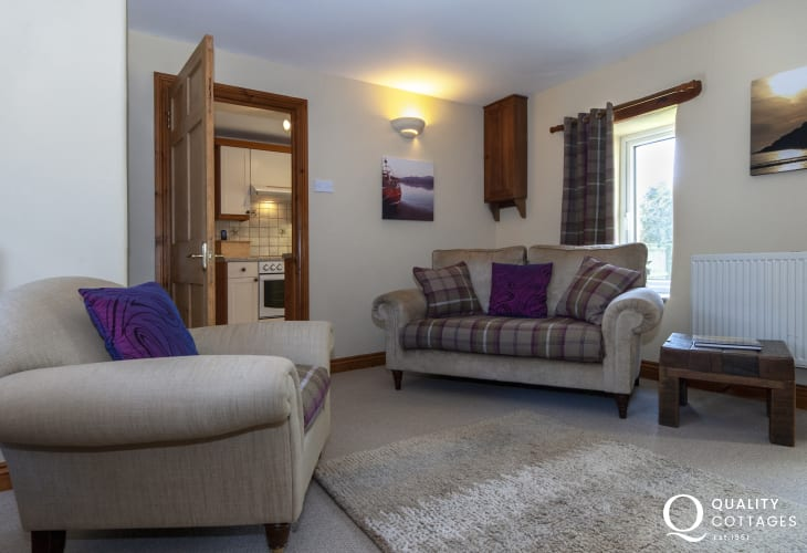 North Pembrokeshire rural retreat - comfy living room