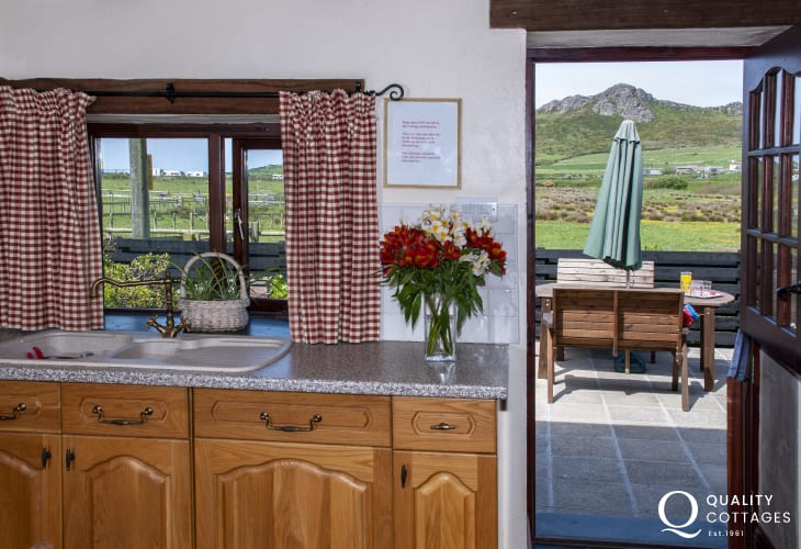 Enjoy stunning views to Carn Llidi Mountain from this Pembrokeshire cottage