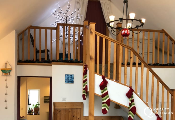Holiday Cottage by The Coastal Path Staircase Interior