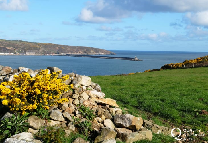The Pembrokeshire Coast Path is a 5 minute stroll away - a wild and rugged coastline with spectacular scenery