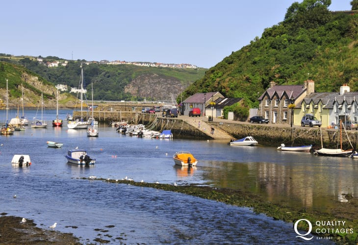 Lower Town Fishguard - picturesque quay and harbour is a short walk away along the spectacular coastal path