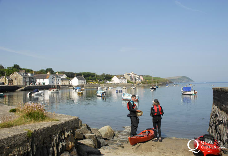 Newport Parrog  - lovely spot to spend an hour out on the water