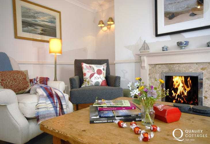 Romantic cottage on the Pembrokeshire Coast Path